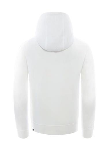 The North Face Drew Peak Pullover Hoodie Erkek Kapüşonlu Sweatshirt Beyaz Renkli